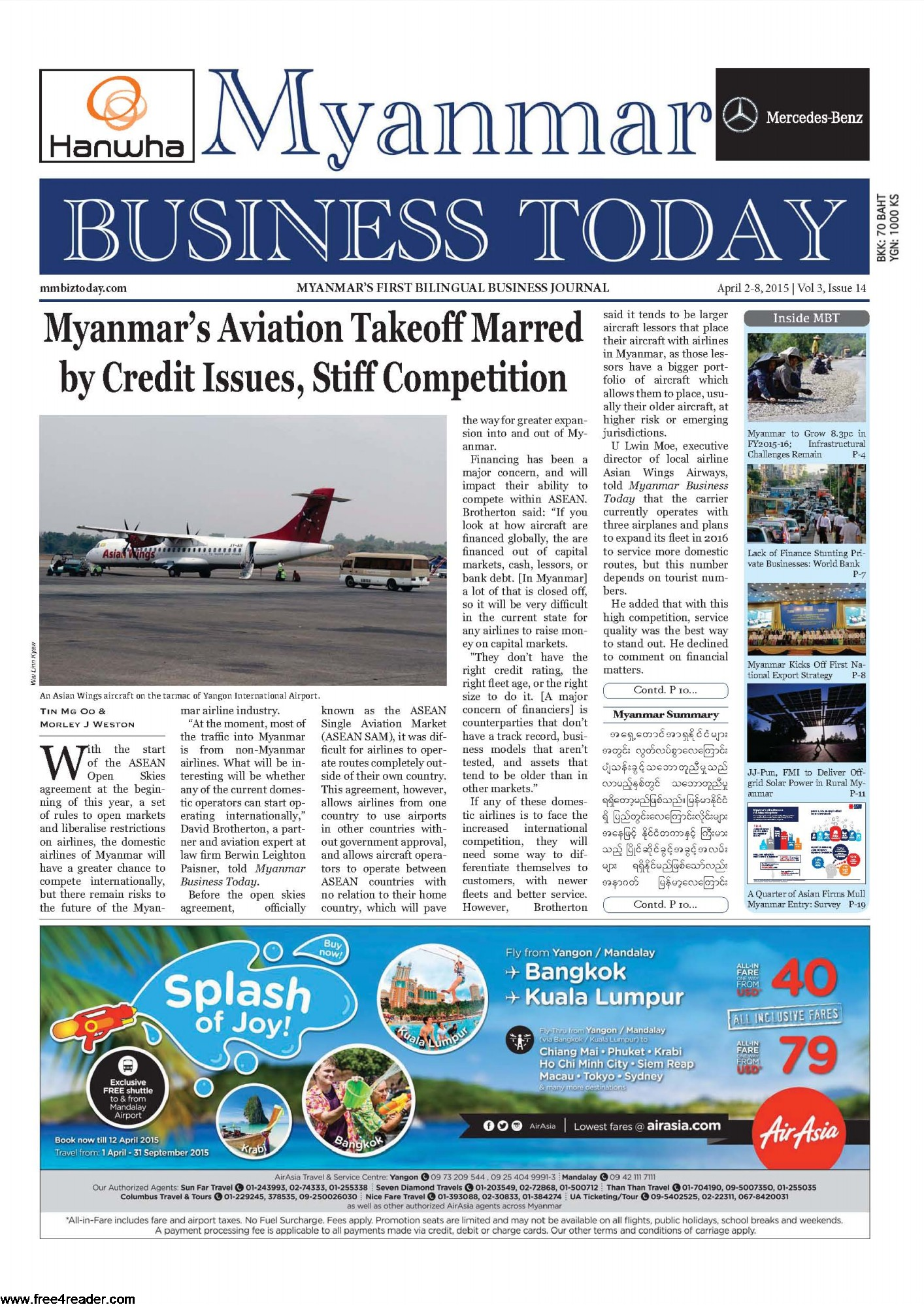 Myanmar Business Today Journal Journal