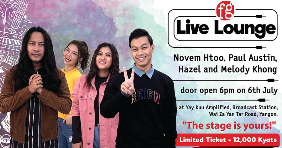 FG Live Lounge (The Voice Myanmar Top 4 Finalists)