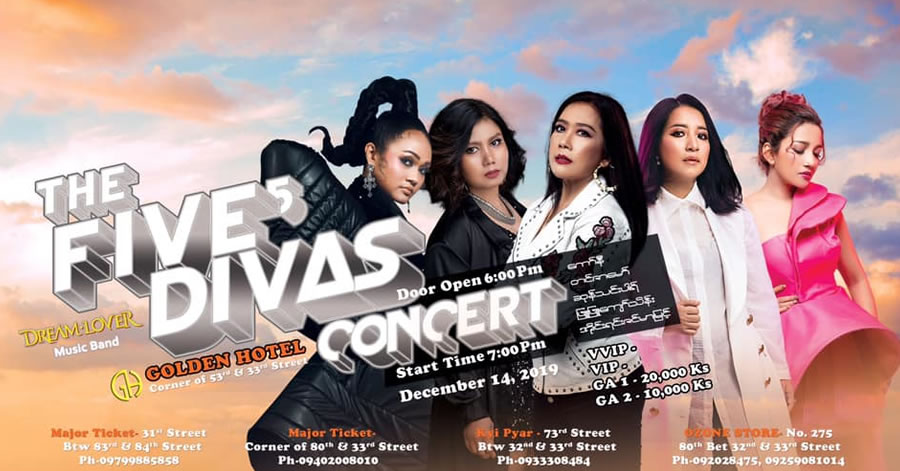 The Five Divas Concert