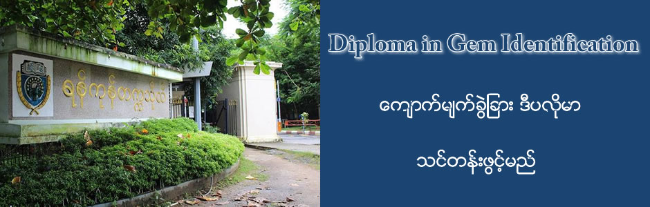 Diploma in Gem Identification