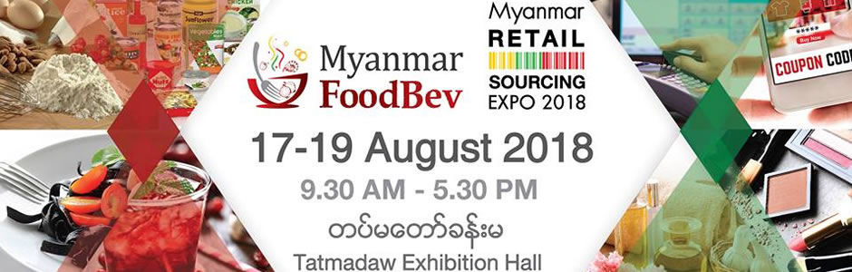 Myanmar FoodBev and Myanmar Retail Sourcing Expo
