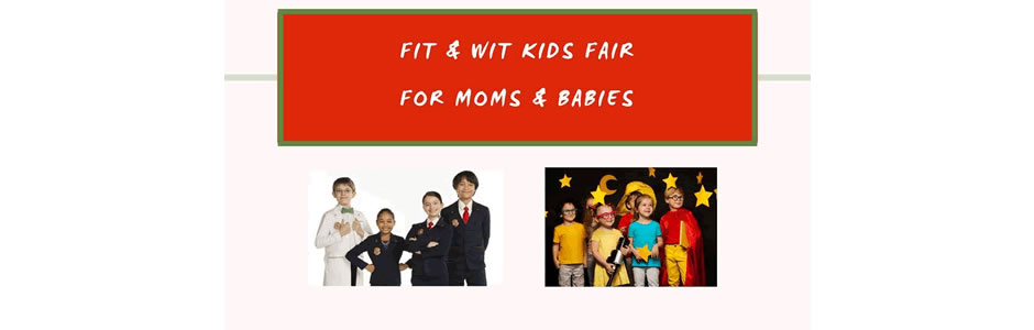 Scarlet Red FIT and WIT Kids Fair