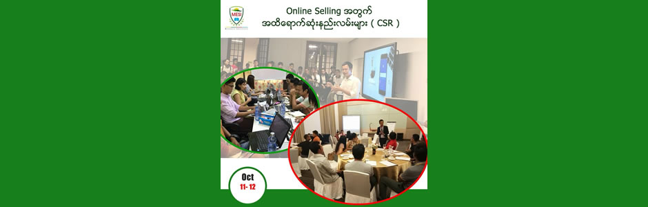 Online Selling the most effective methods (CSR)