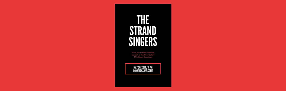 The Strand Singers Concert