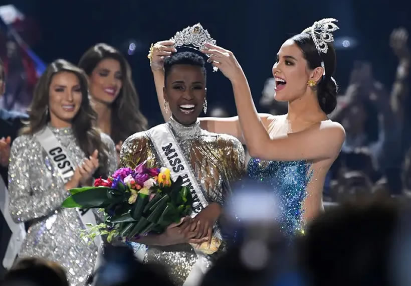 Miss South Africa Zozibini Tunzi was crowned the winner of Miss Universe 2019