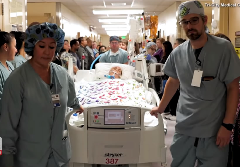 Hospital Holds Honor Walk for Organ Donor Who Saved 5 Lives