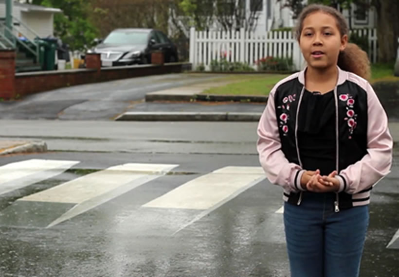 Elementary Students Convince Officials to Install 3D Crosswalk on School Road