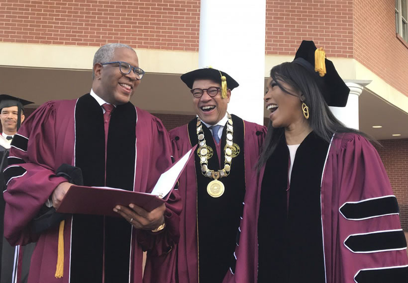 Billionaire Robert Smith pledges to pay off Morehouse College class of 2019