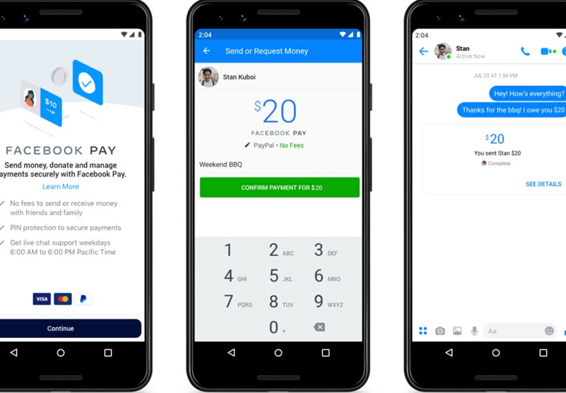 Facebook wants you to pay people on Messenger, Instagram and WhatsApp with Facebook Pay