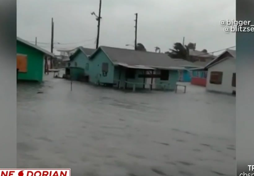 Hurricane Dorian pummels Bahamas as monster Category 5 storm
