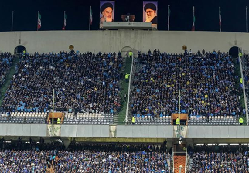 Iranian woman denied soccer stadium access dies after setting herself on fire
