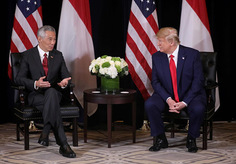 PM Lee, President Trump renew MOU on US use of military facilities in Singapore, extending it by 15 years