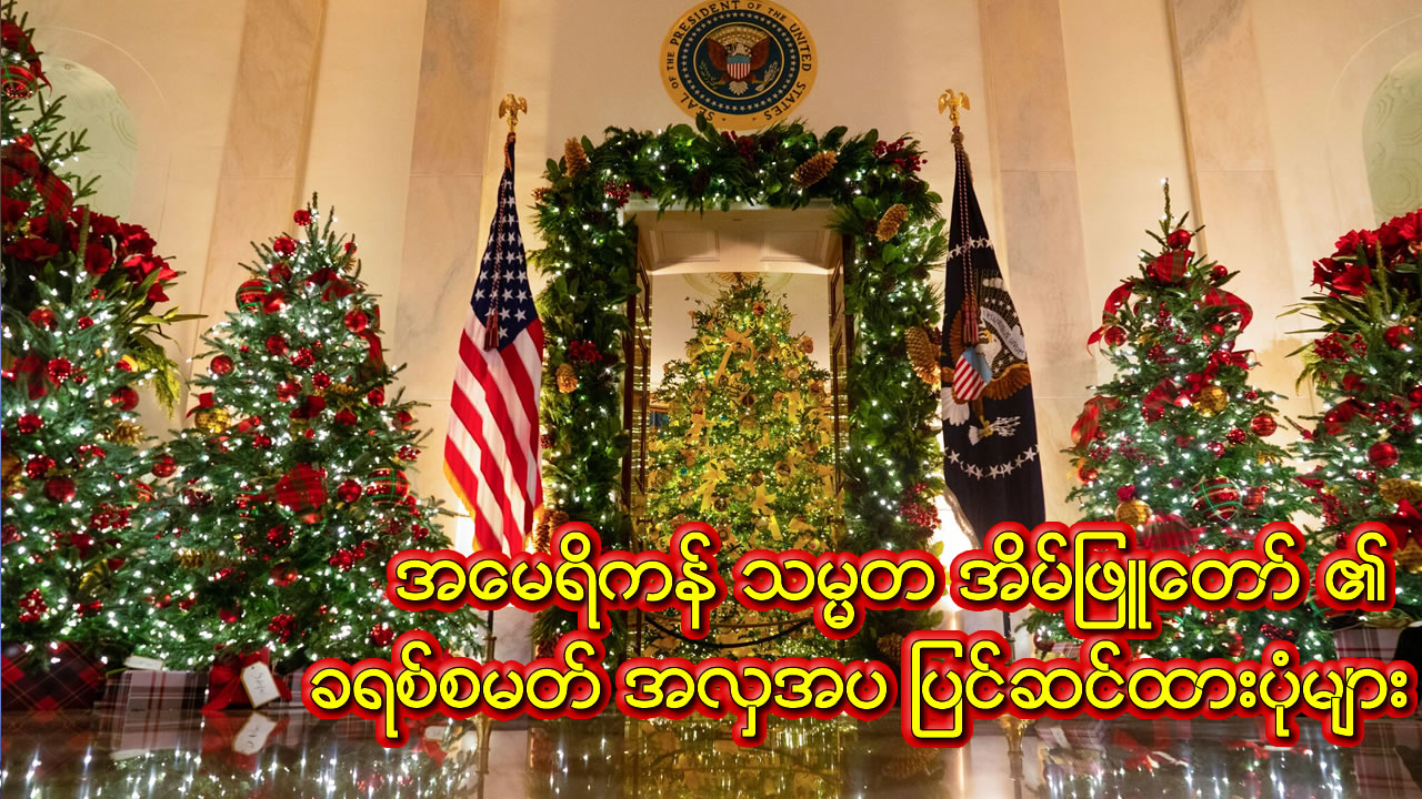 The White House Christmas Decorations Look Strikingly Normal