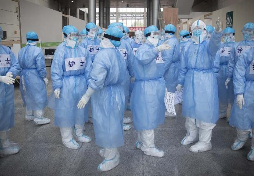 Over 1,700 frontline medics infected with coronavirus in China, presenting new crisis for the government