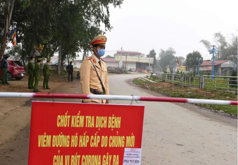 Vietnam quarantines area with 10,000 residents over coronavirus fears