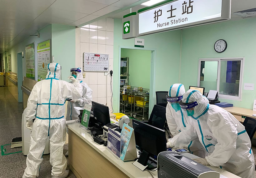 Hospital director at China virus epicentre dies