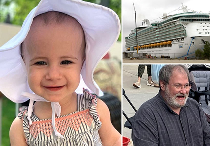 Grandfather of toddler who died in cruise ship fall is pleading guilty to end