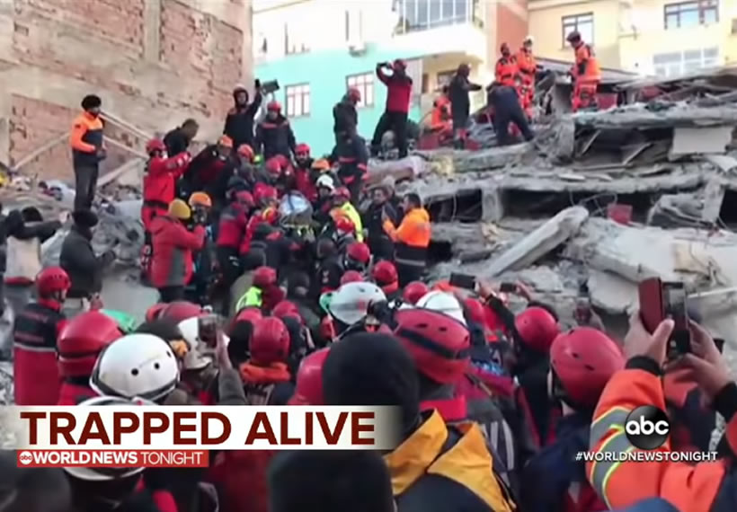 At least 20 dead, hundreds hurt in Turkey quake