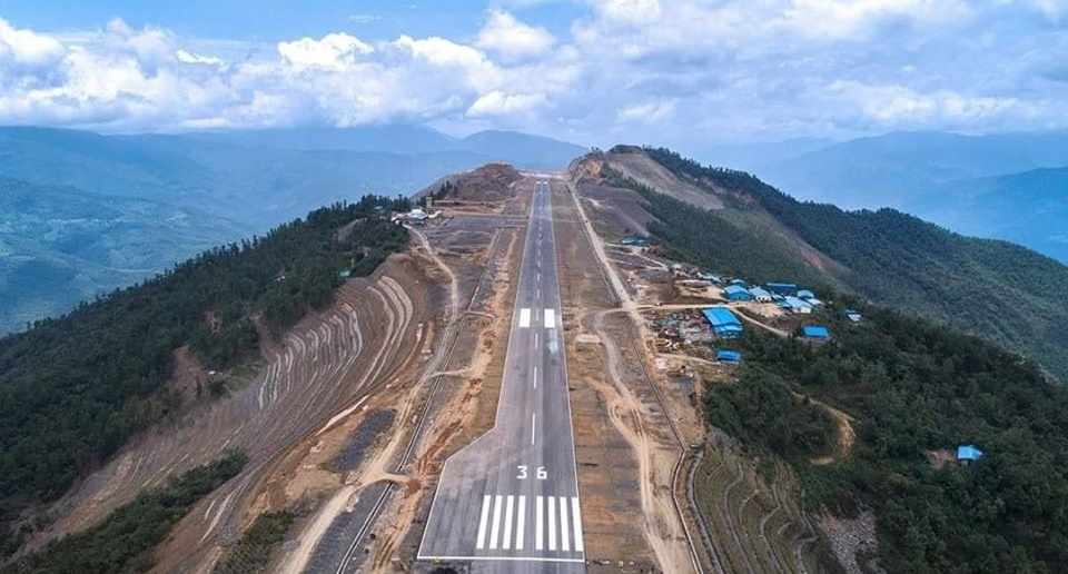 Pha Lann airport is doing test flying and preparing to open soon