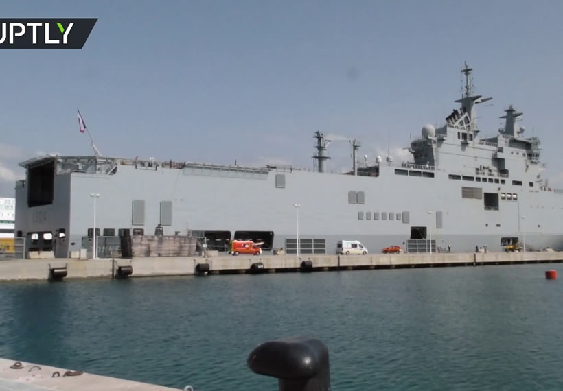 Warship evacuates COVID-19 patients in France