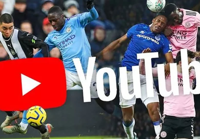 Premier League matches to be shown for free on YouTube in coronavirus broadcasting plan