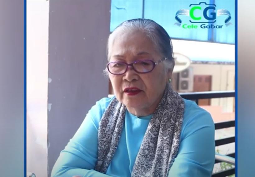 Daw Ngwe Ngwe San said, she resists Covid-19 in her age of 80