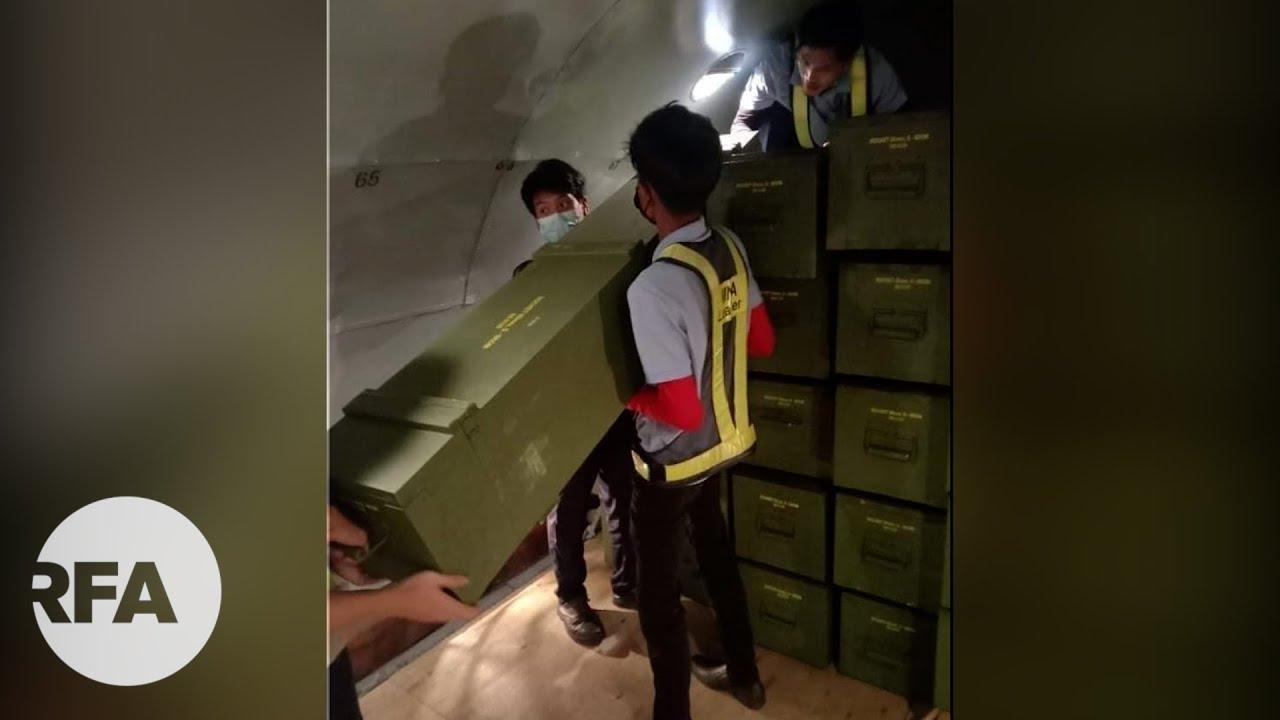 Behind the Ku Min Flight Case