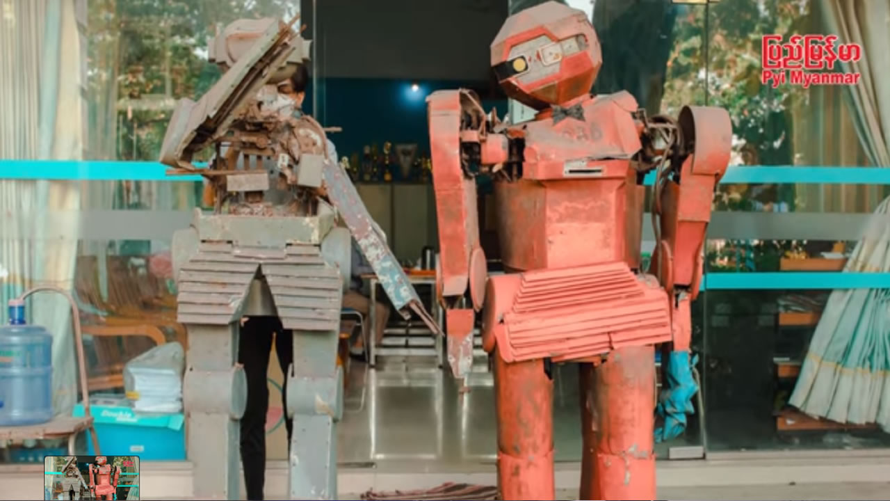First Myanmar Robot
