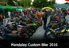 Mandalay Custom Bike 2016