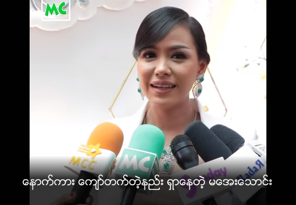 Well-known Actress Aye Witt Yee Thaung