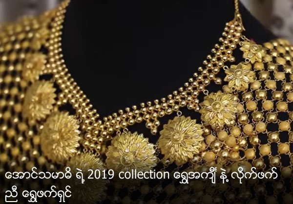 Golden Fashion with Gold Blouse of