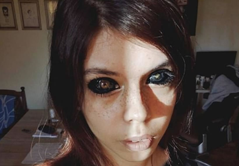 Polish Model Left 'Completely Blind' After Getting Her Eyeballs Tattooed Black