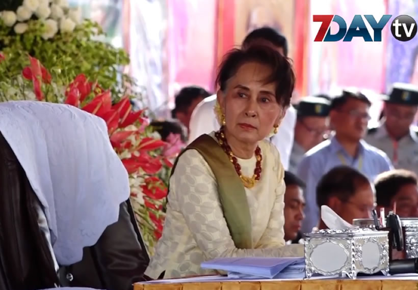 State Counselor  meet with public at Pyin Oo Lwin