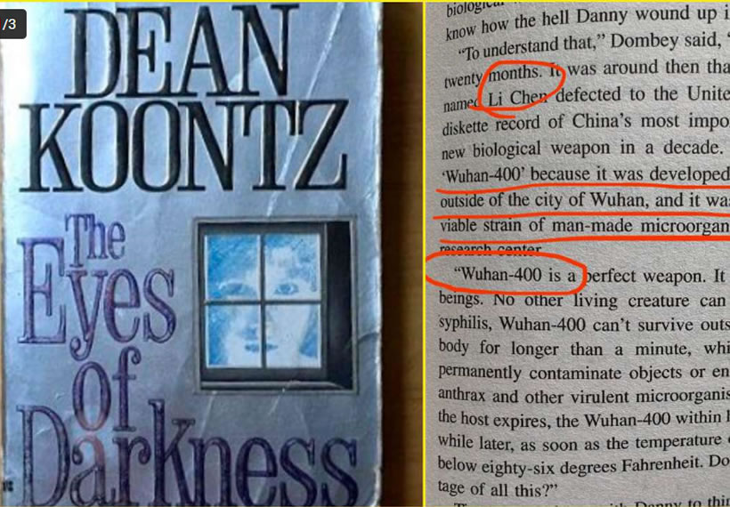 Wuhan coronavirus predicted in Dean Koontz's 1981 novel 'The Eyes of Darkness'; 'Coincidence or prophecy' asks Twitter