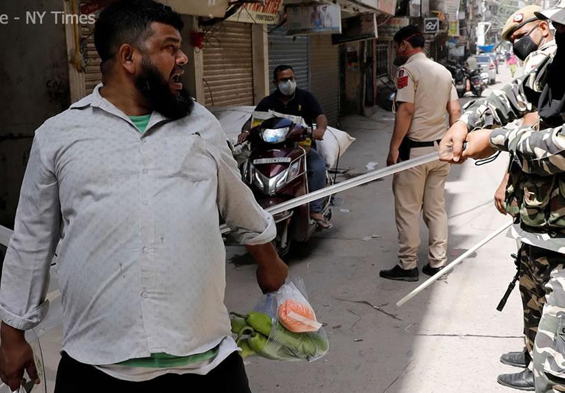 India Day 1 World Largest Coronavirus Lockdown Begins