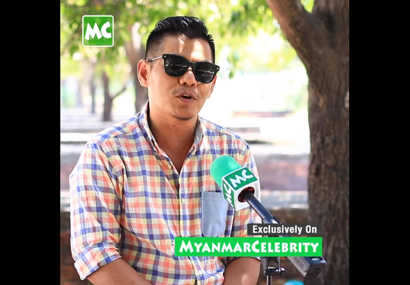 Actor Phoe Kyaw encourages Artists to participate in fighting against the COVID-19