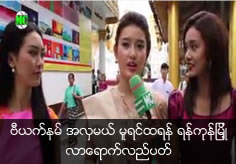 Vietnamese Miss Nguyen Tran Huyen My Visited Yangon