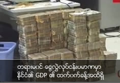 Illegal remitting business amount become half of country GDP