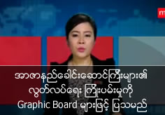 Martyrs' attempting for getting independence will broadcast with graphic board