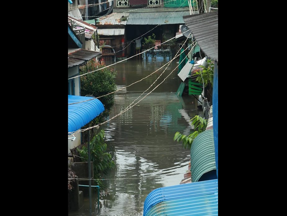 Pha An flood condition