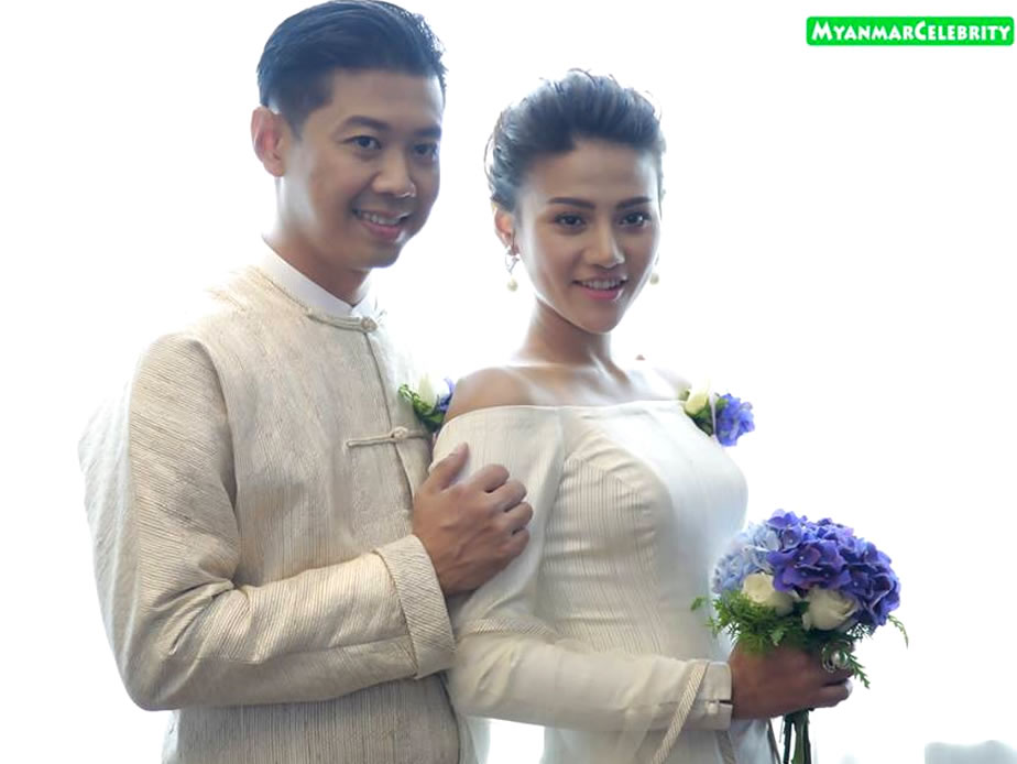 Actress Paing Phyo Thu and director Nya Tin Oo (or) Na Gyi s ' engagement ceremony