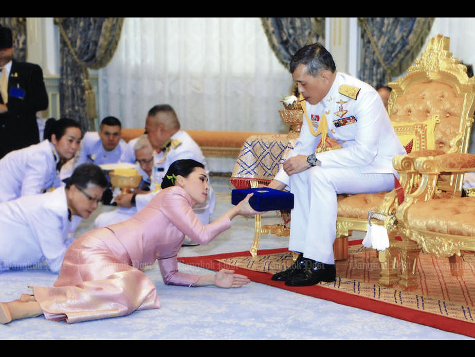 Thai king grand coronation