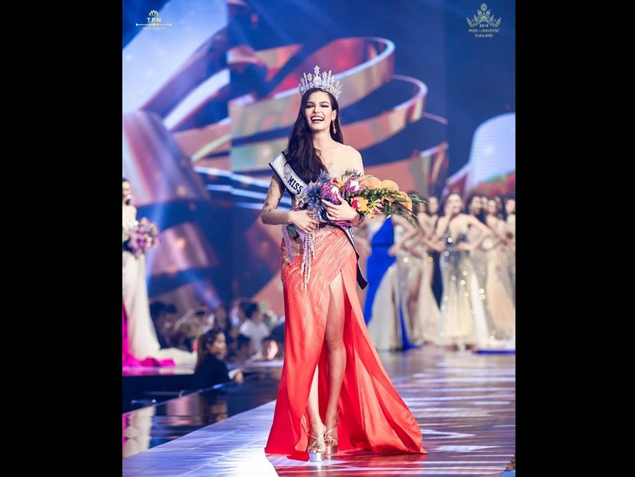 Half-Canadian crowned Miss Thailand Universe 2019