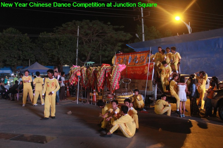 Chinese Lion Competition at Junction Square 2014